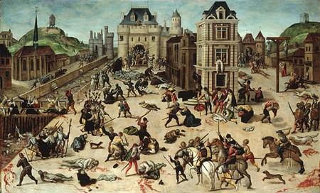 Dubois, massacre Sainte Barthélemy
