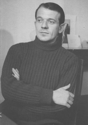 Gilles Deleuze ritratto da Michel Tournier negli anni '50