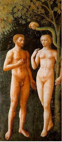 Masaccio, Adamo_Eva